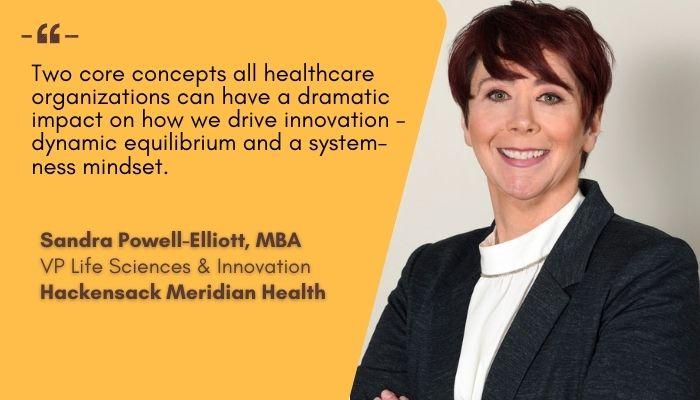 Sandra Powell-Elliott, VP, Hackensack Meridian Health