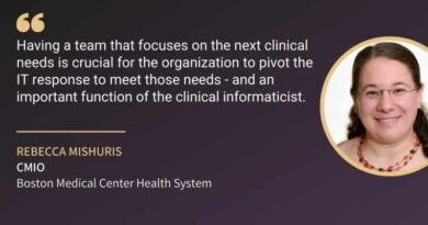 Rebecca Mishuris, CMIO, Boston Medical Center Health System