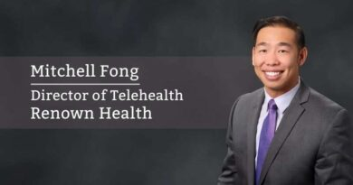 Mitchell Fong, Director of Telehealth, Renown Health