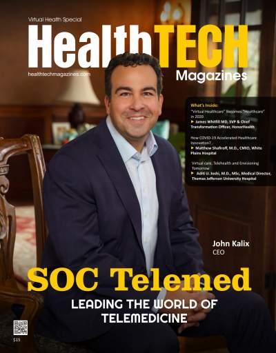 Virtual Health Magazine cover