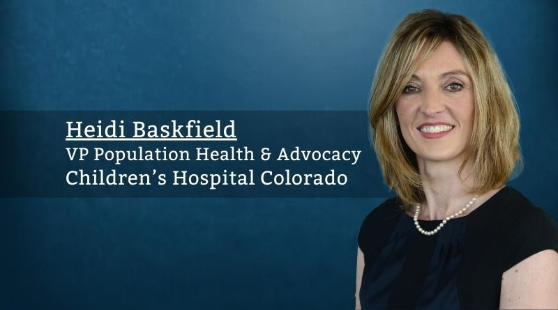 Heidi Baskfield, Children's Hospital Colorado