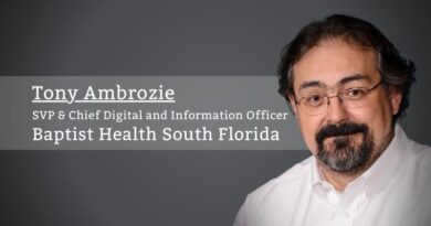 Tony Ambrozie, SVP & Chief Digital and Information Officer, Baptist Health South Florida