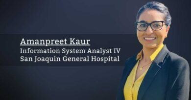 Amanpreet Kaur, Information System Analyst IV, San Joaquin General Hospital