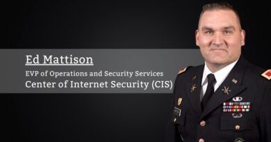 Ed Mattison, Center of Internet Security (CIS)