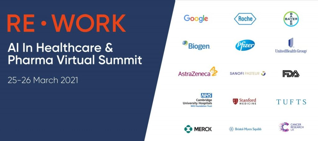 Re work AI & Healthcare Summit event