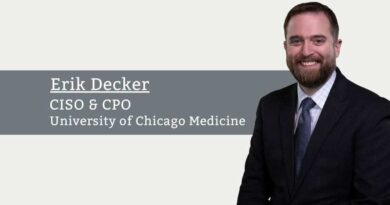 Erik Decker, CISO & CPO, University of Chicago Medicine