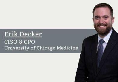 Erik Decker, CISO & CPO, University of Chicago Medicine
