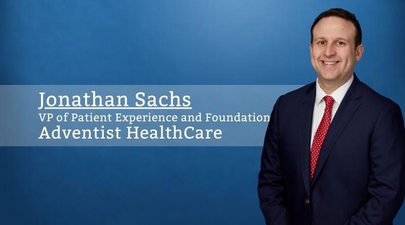 Jonathan Sachs Adventist HealthCare