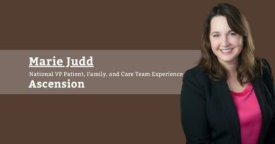 Marie Judd, National VP Patient, Family, and Care Team Experience, Ascension