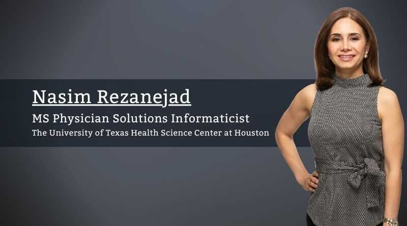 Nasim Rezanejad The University of Texas Health Science Center at Houston
