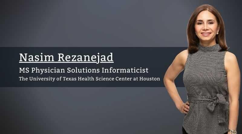 Nasim Rezanejad The University of Texas Health Science Center at Houston