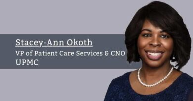 Stacey-Ann Okoth, VP of Patient Care Services & Chief Nursing Officer, UPMC