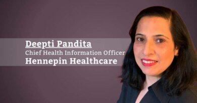 Deepti Pandita MD, FACP, FAMIA, Chief Health Information Officer