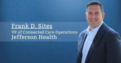 Frank D. Sites, MHA, BSN, RN, VP of Connected Care Operations, Jefferson Health