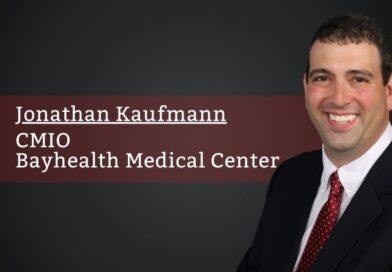 Jonathan Kaufmann, CMIO, Bayhealth Medical Center
