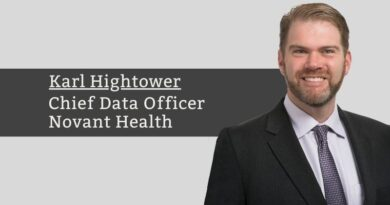 Karl Hightower, Chief Data Officer & SVP – Data Products and Services, Novant Health