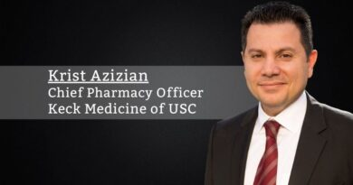 Krist Azizian, Pharm.D., MHA, Chief Pharmacy Officer | Chief Regional Oncology Officer, Keck Medicine of USC