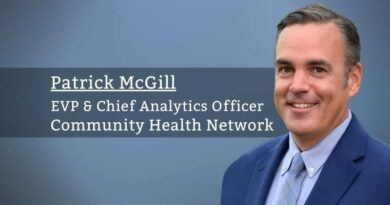 Patrick McGill, MD., EVP & Chief Analytics Officer, Community Health Network