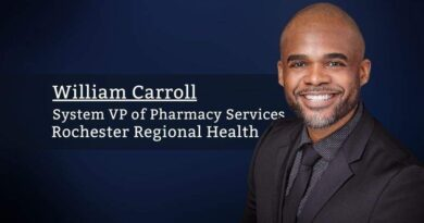 William Carroll, System VP of Pharmacy Services, Rochester Regional Healt