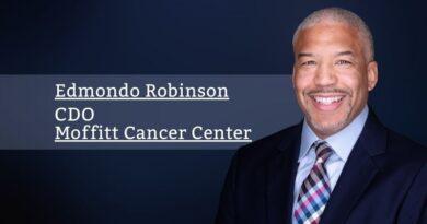 Edmondo Robinson, CDO, Moffitt Cancer Center