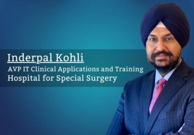 Inderpal Kohli, AVP IT Clinical Applications and Training, Hospital for Special Surgery