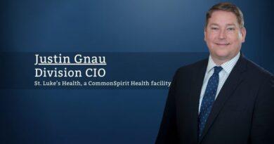 Justin Gnau_St. Luke's Health, a CommonSpirit Health facility