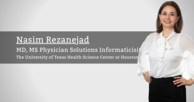 Nasim Rezanejad, MD, MS, Physician Solutions Informaticist, The University of Texas Health Science Center at Houston